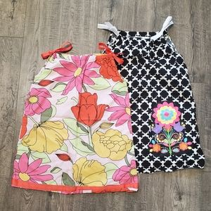 (2) Hanna Andersson Pillowcase Dresses. Size 120